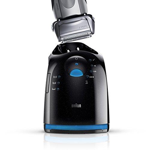 BRAUN Series 7 799cc-7 Wet & Dry elektrischer Rasierer mit Reinigungsstation (1 Reinigungskartusche)4