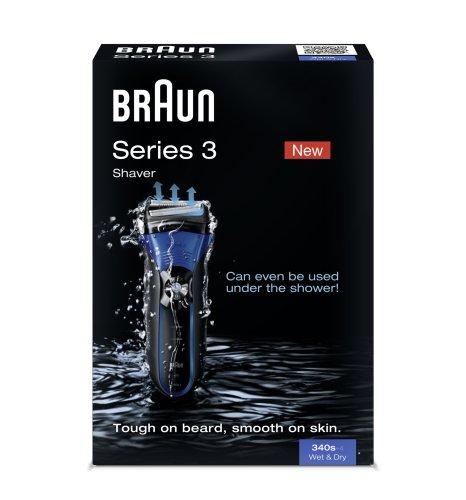 BRAUN Series 3 340s Wet & Dry elektrischer Folienrasierer (Standard Edition)3