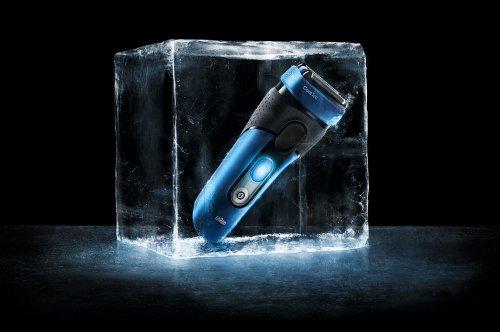 BRAUN CoolTec CT2cc Wet & Dry elektrischer Folienrasierer mit aktiver Kühltechnologie und Reinigungsstation2