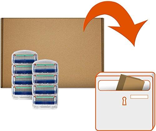 Gillette Fusion Klingen, 8 Stück, briefkastenfähige Verpackung2
