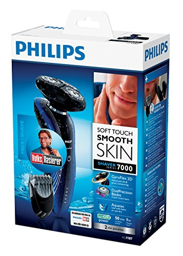 Philips Volks-Rasierer RQ1187/16 SensoTouch 2D Nass- & Trockenrasierer (Bartstyler)3