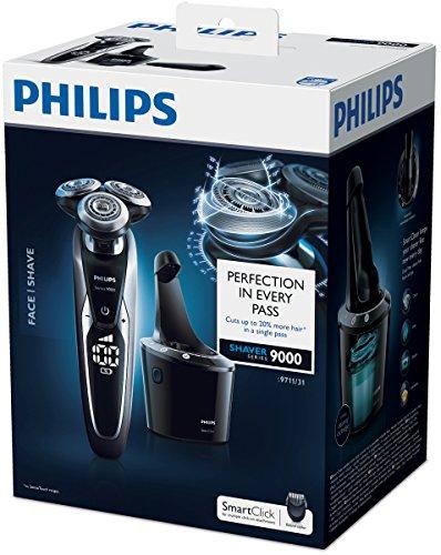 PHILIPS S9711/31 Series 9000 Nass- & Trockenrasierer (Reinigungsstation Pro, Bartstyler)4
