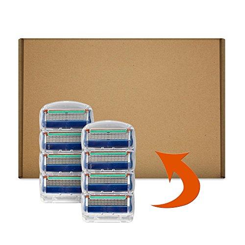 Gillette Fusion Klingen, 8 Stück, briefkastenfähige Verpackung6