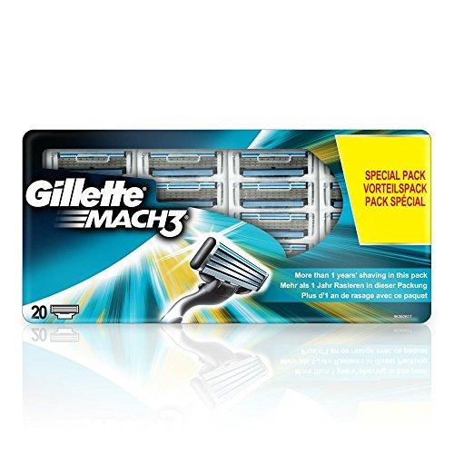Gillette MACH3 Klingen, 20 Stück