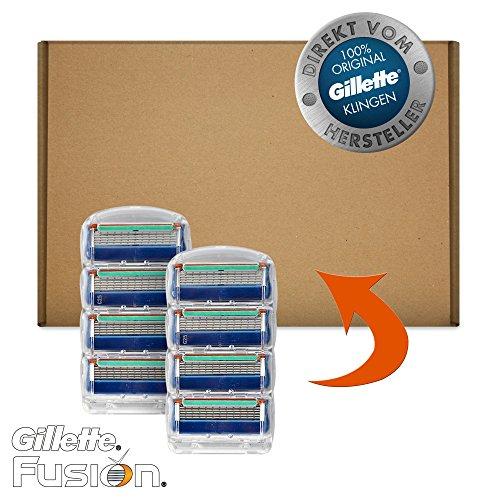 Gillette Fusion Klingen, 8 Stück, briefkastenfähige Verpackung5