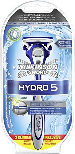 Wilkinson Sword Hydro 5 Starterset Rasierapparat mit 3 Klingen, 1er Pack (1 x 3 Stück)6