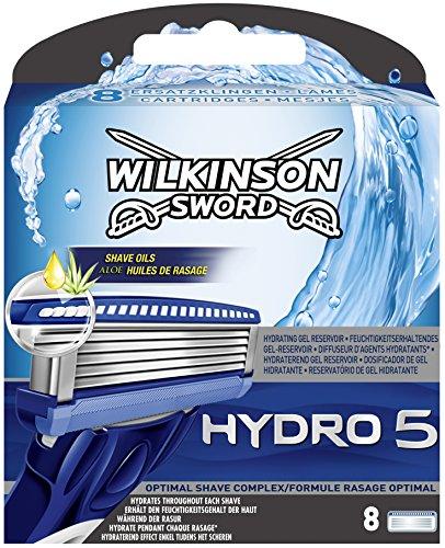 Wilkinson Sword Hydro 5 Klingen, 8 Stück4