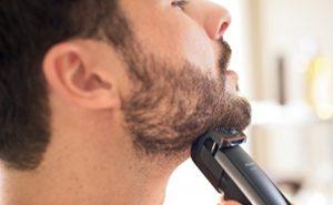 Bartschneider im Einsatz