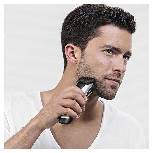 Braun Bartschneider BT5090 Barttrimmer (Bartrasierer zur Bartpflege mit Ladestation) silber – 3